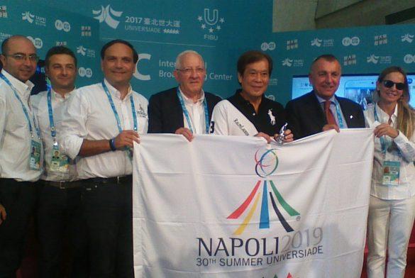 Delegazione Napoli 2019 a Taipei