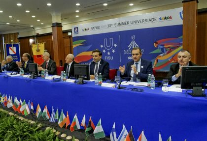 Heads of Delegations Meeting – primo giorno