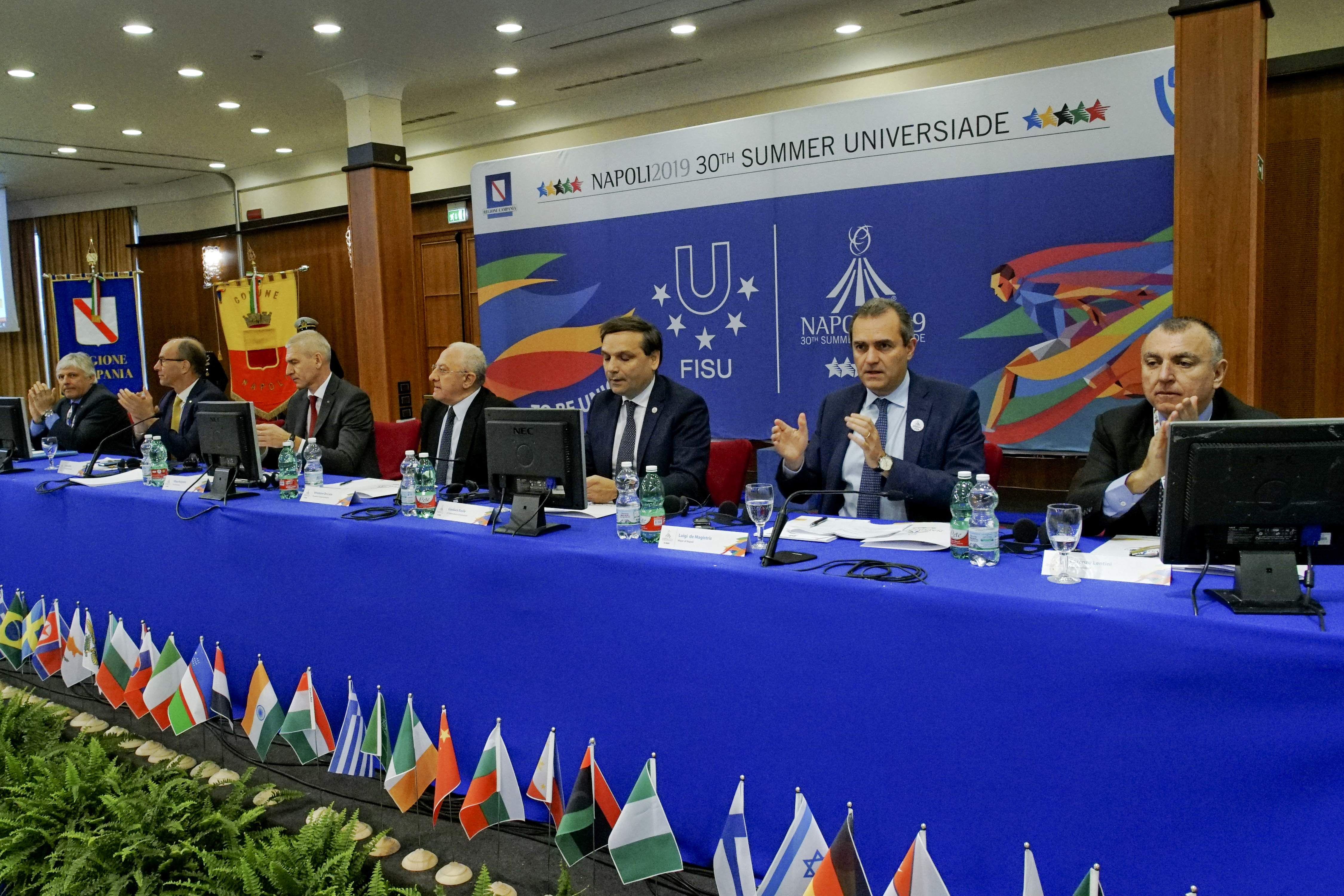 Heads of Delegations Meeting – 1st day