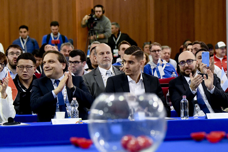 Heads of Delegations Meeting – Sorteggio Squadre