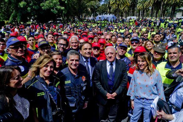 Volontari della Protezione Civile