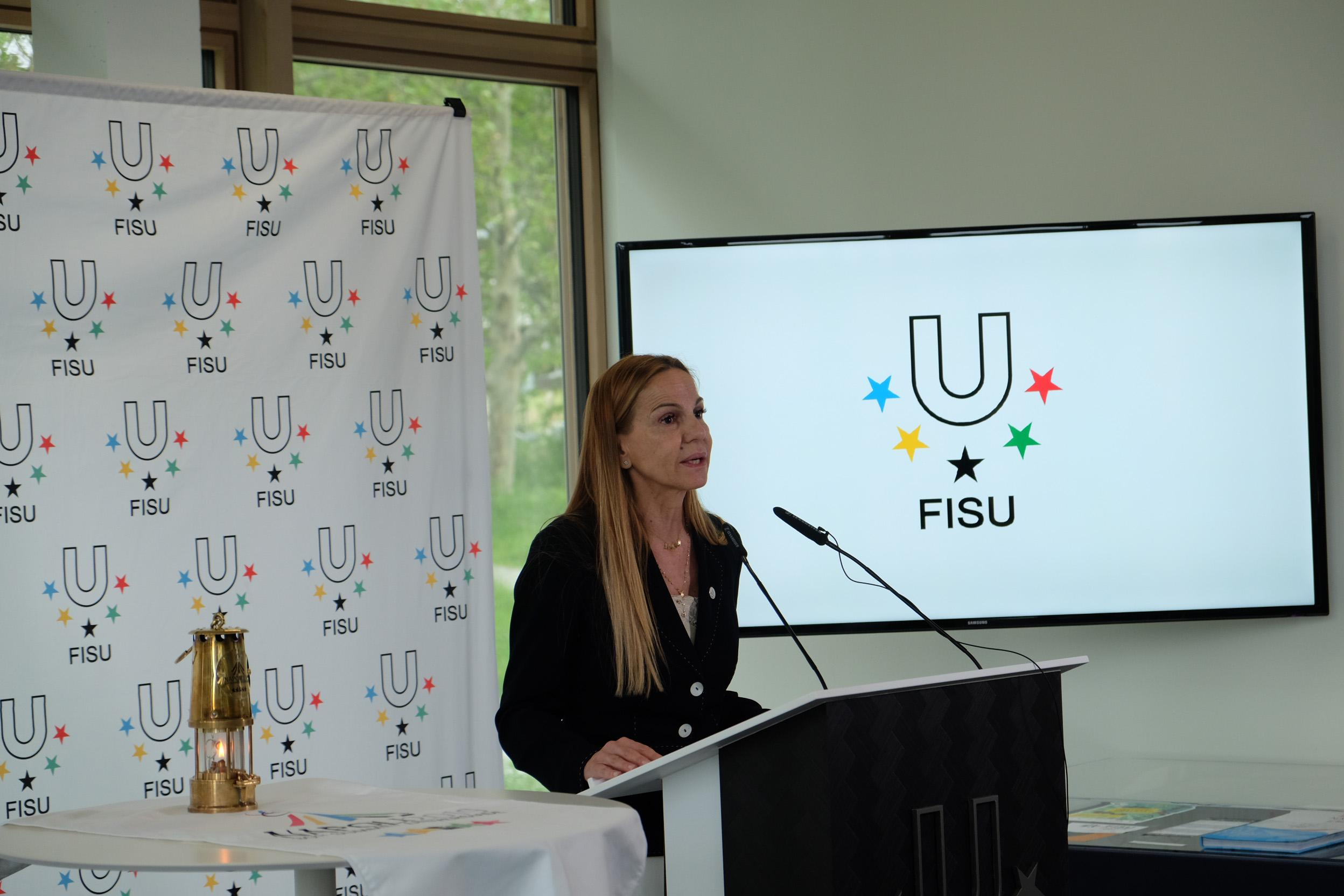 Losanna Torch Day Universiade 2019 Napoli
