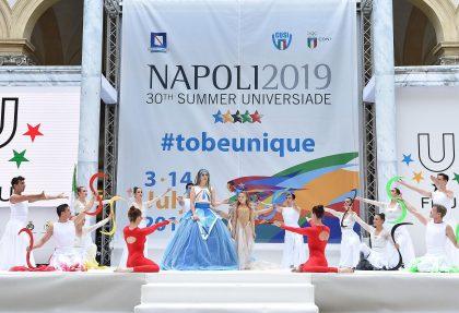 Accensione della Torcia di Napoli 2019
