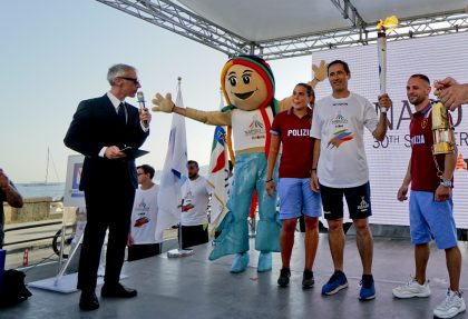 Torch Relay Napoli 2019 – Naples