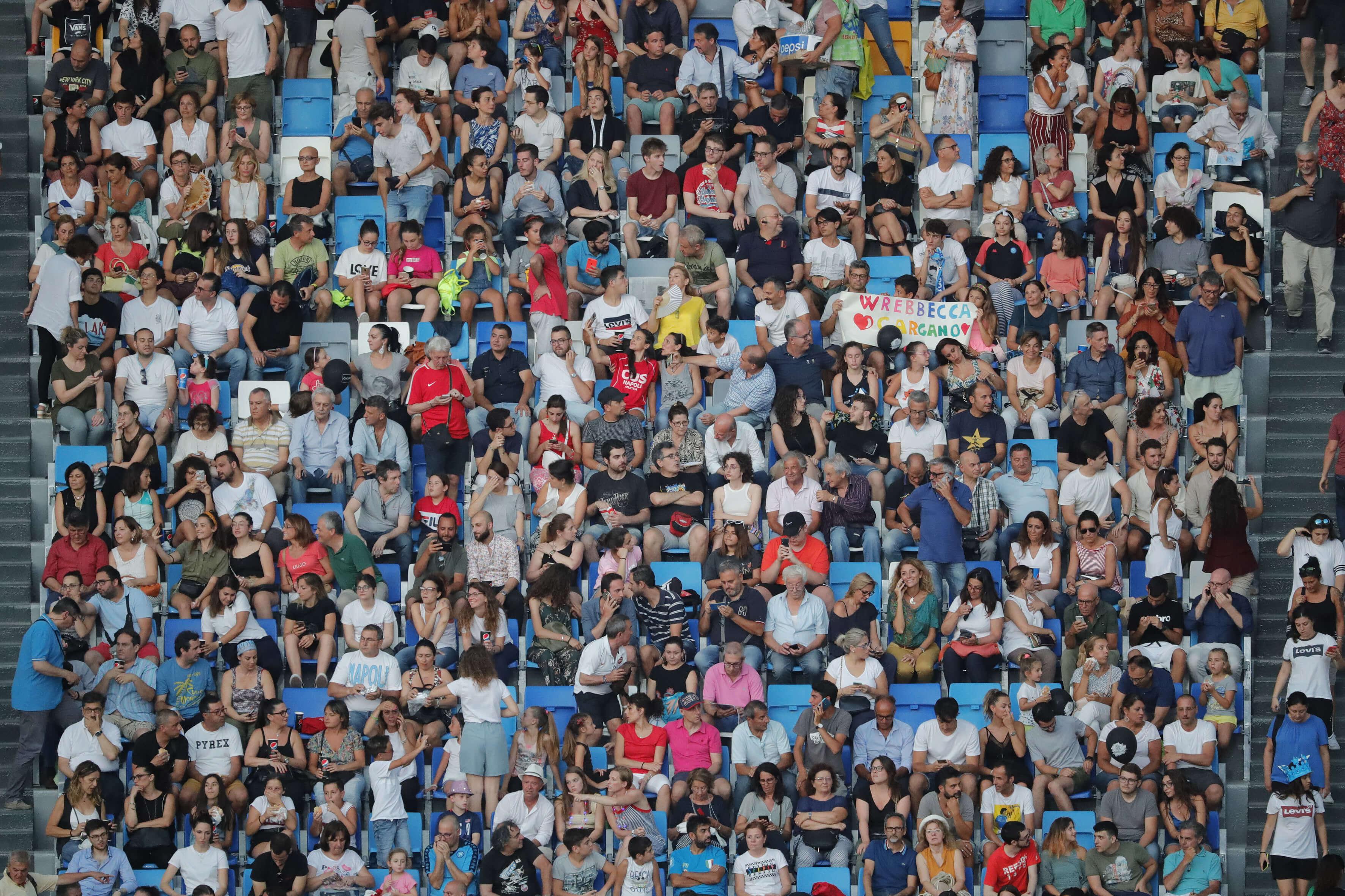 Cerimonia d'Apertura Napoli 2019