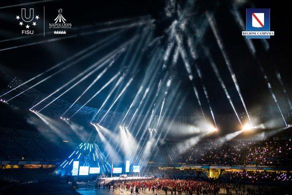 Napoli 2019 – Cerimonia di chiusura