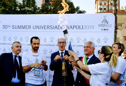 Torch Relay Napoli 2019 – Salerno