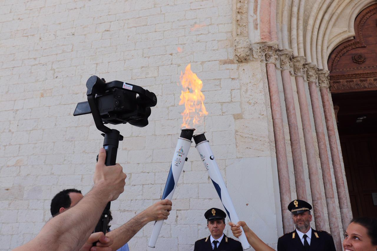 Torch Relay Napoli 2019 – Assisi