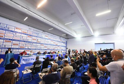 Napoli 2019 presentation press conference