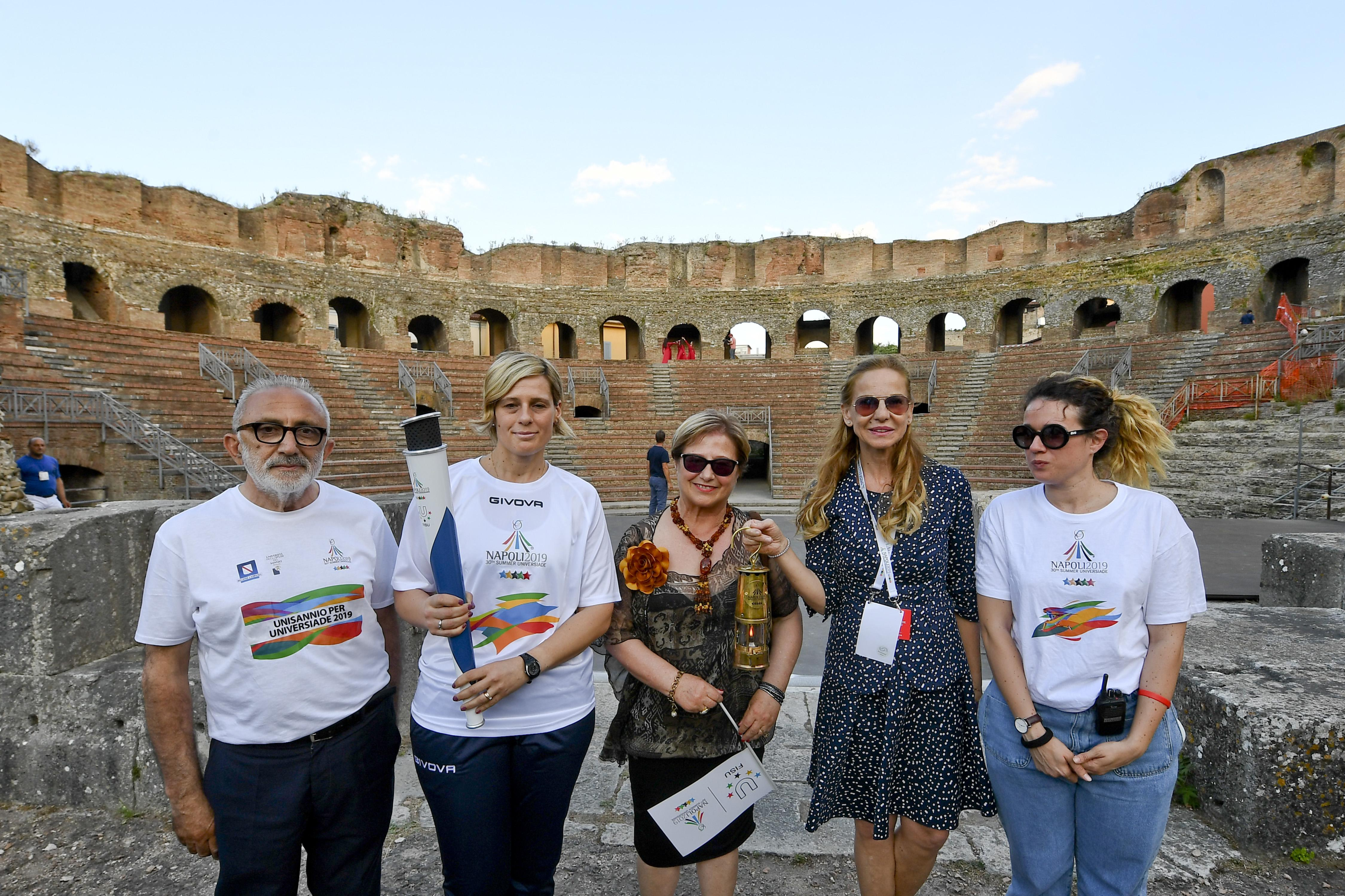 Torch Relay Napoli 2019 – Benevento