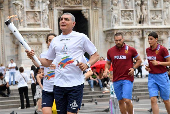 Torch Relay Napoli 2019 – Milano