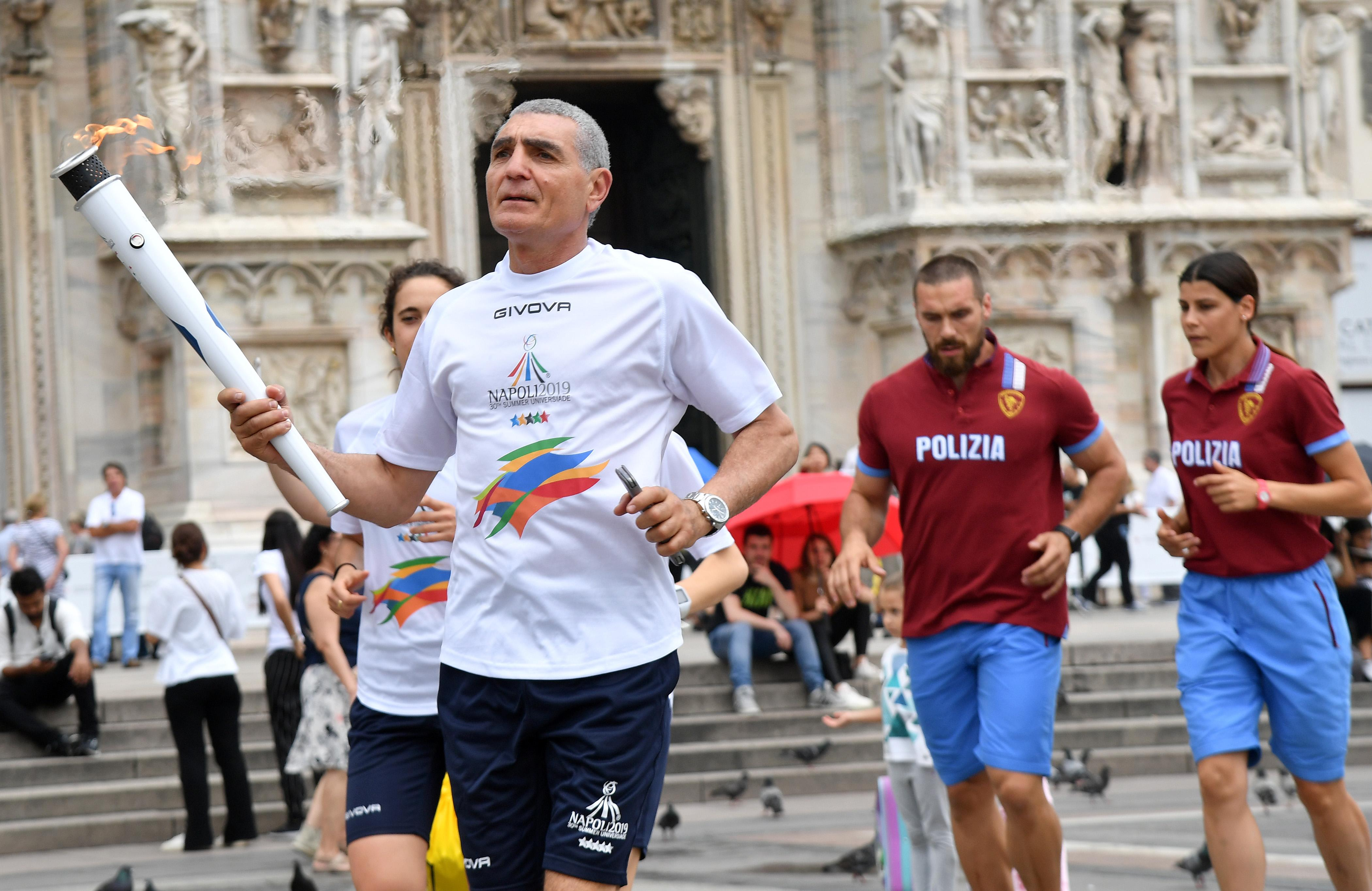 Torch Relay Napoli 2019 – Milan