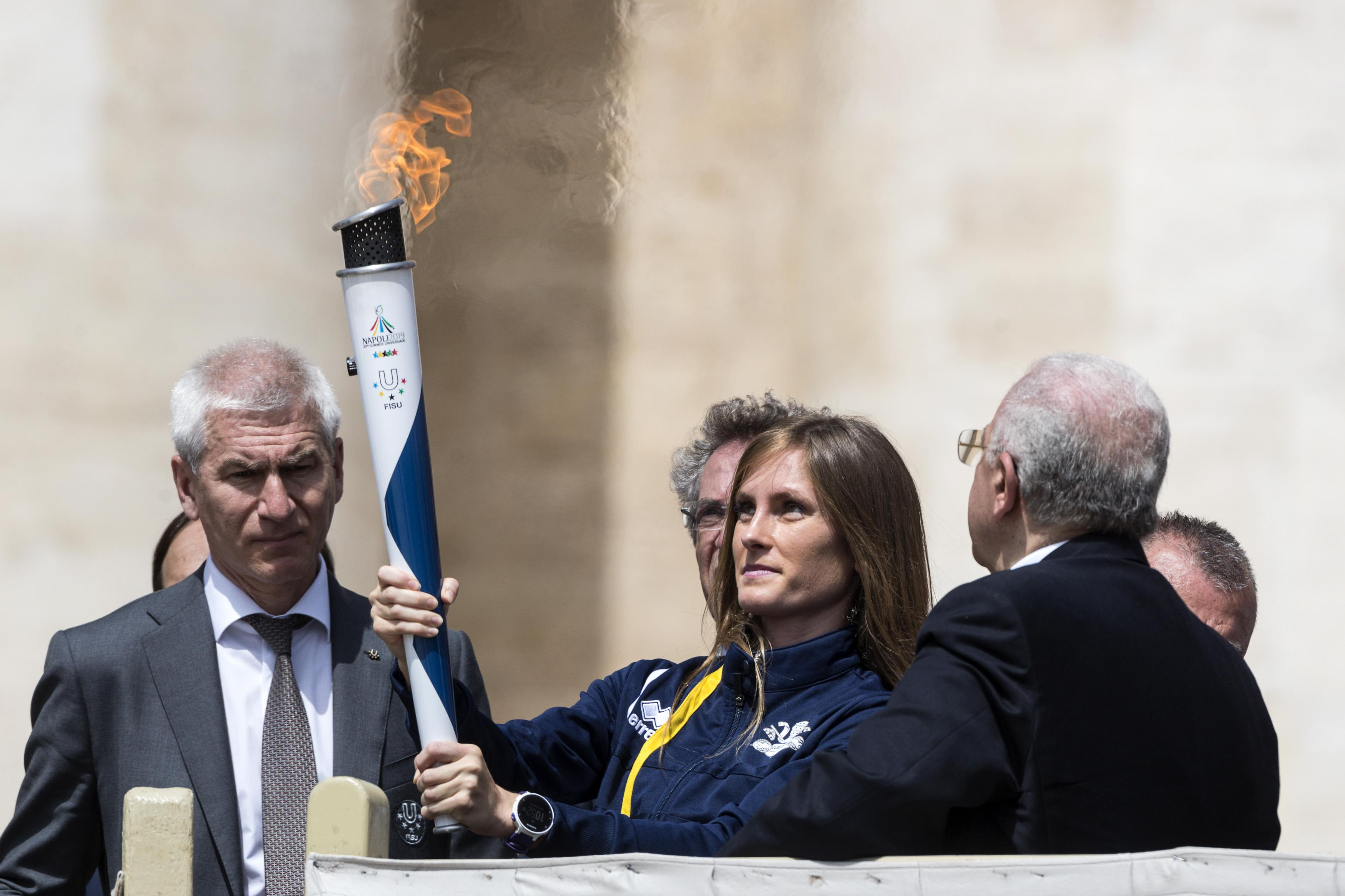 Torch Relay Napoli 2019 – Vatican City