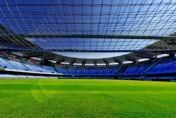 (Italiano) Final shipment of locker room at San Paolo stadium